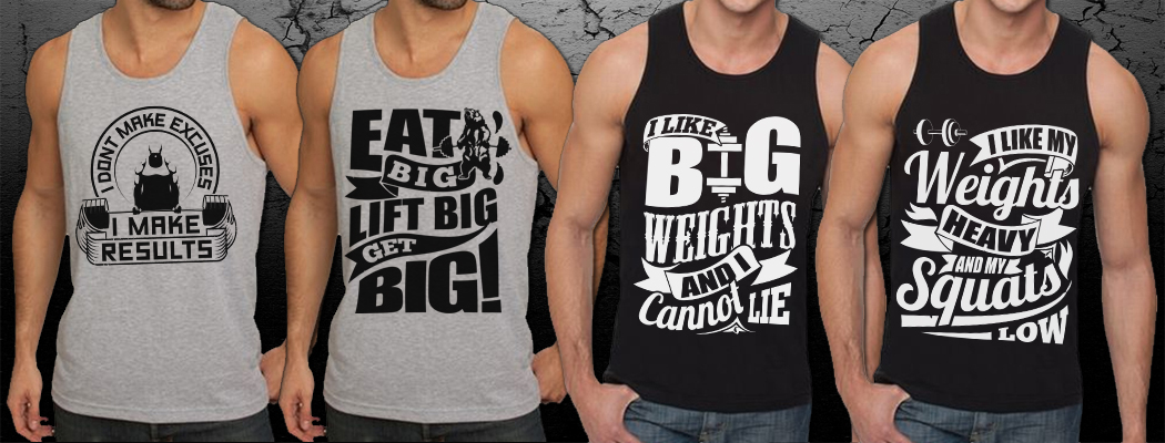 Workout Motivation Quotes - Mens Workout Tank Tops